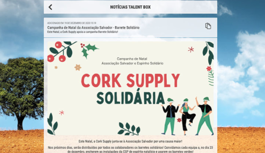 Cork Supply Talento GFoundry